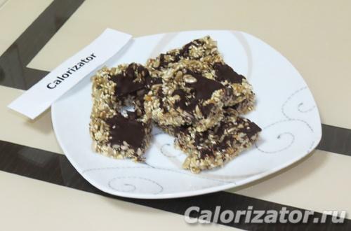 Козинак с шоколадом