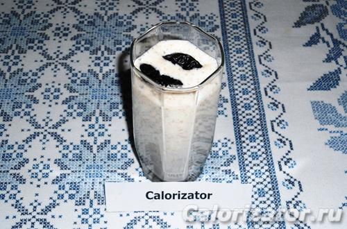 Коктейль с черносливом и клетчаткой