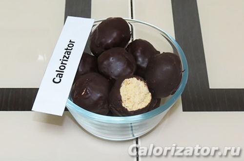 Ванильно-кокосовые конфеты