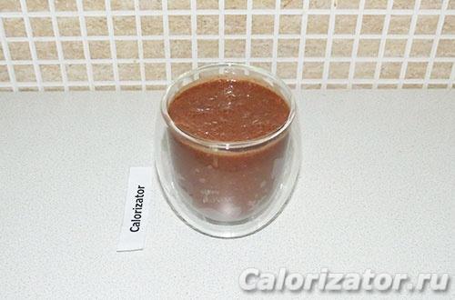 Напиток с какао и финиками