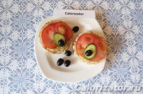 Бутерброды с баклажанной пастой