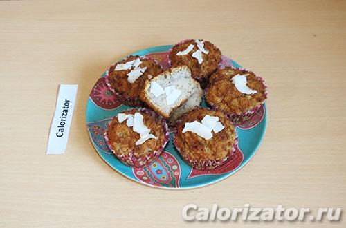 Кокосовые кексы с чиа