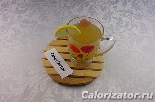Напиток яблочно-имбирный