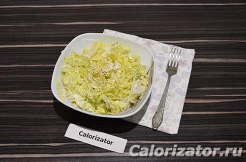 Нежный салат с ананасом