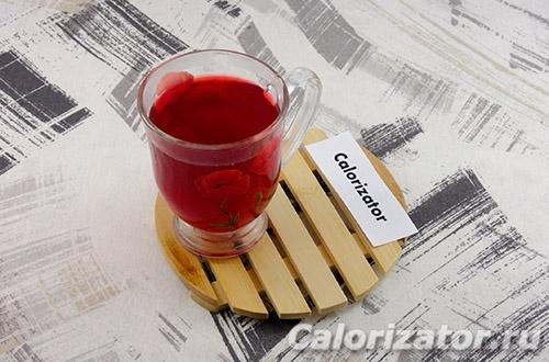 Напиток клюквенно-имбирный