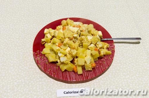 Картофель запеченный в рукаве с сыром
