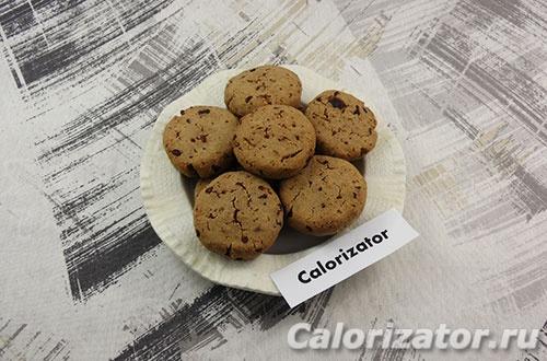 Печенье из гречневой муки