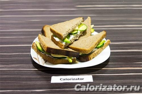 Бутерброды с фетой и огурцом - как приготовить, рецепт с фото по шагам, калорийность.