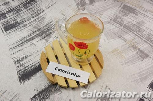 Напиток с цитрусовыми и имбирем