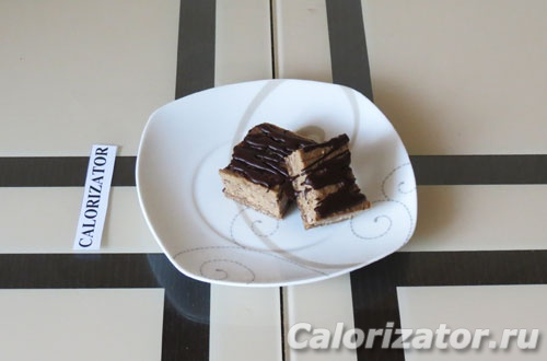 Гречневое пирожное