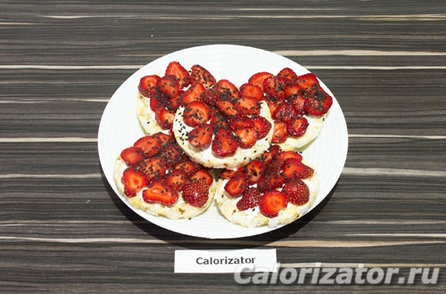 Бутерброды с клубникой и фетаксой - как приготовить, рецепт с фото по шагам, калорийность.