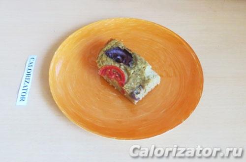 Нутовый пирог