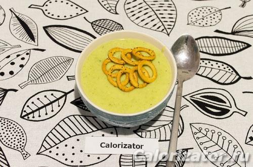 Суп пюре из брокколи и картофеля