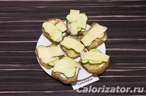 Бутерброды с картофелем и огурцом - как приготовить, рецепт с фото по шагам, калорийность.