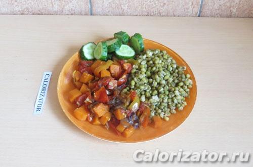 Маш с овощами