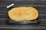 Шаг 8. Верхней частью лаваша закрыть будущий пирог, запекать в духовке при 180 г