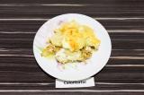 Готовое блюдо: картофельная запеканка с соевым фаршем