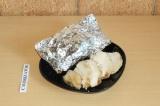 Готовое блюдо: куриная грудка в соевом соусе