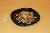 Готовое блюдо: яблочно-кокосовый крамбл
