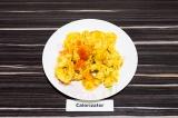 Готовое блюдо: макароны с тыквенным соусом