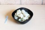 Готовое блюдо: пельмени с чечевицей