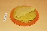 Готовое блюдо: нутовые блины с прованскими травами