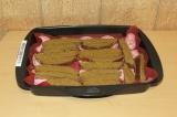 Шаг 7. Смазать каждый кусочек соусом и отправить в духовку на 20 минут при 180