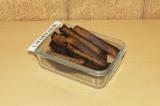 Готовое блюдо: домашние ржаные сухарики
