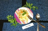 Готовое блюдо: маринованная капуста
