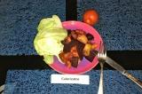 Готовое блюдо: овощи, запеченные со специями