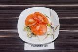 Готовое блюдо: салат Красная шапочка