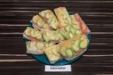 Готовое блюдо: спринг-роллы с чечевицей и овощами