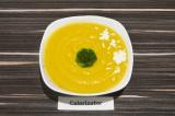 Готовое блюдо: тыквенный суп-пюре с брокколи