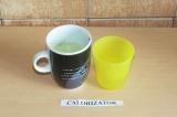 Шаг 3. В готовый чай матча добавить теплую воду.