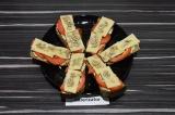 Готовое блюдо: бутерброды с паштетом из окары
