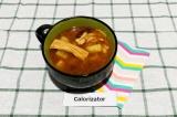 Готовое блюдо: суп с соевой пастой