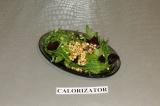 Готовое блюдо: салат с рукколой