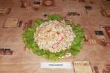 Готовое блюдо: диетический салат Каприз