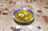 Готовое блюдо: суп с тефтелями ПП
