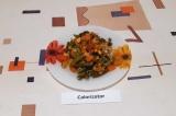Готовое блюдо: куриная грудка с овощами ПП