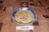 Готовое блюдо: сырный суп