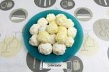 Готовое блюдо: творожные ПП рафаэлло с кешью