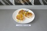 Готовое блюдо: кокосовые оладушки