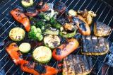 Готовое блюдо: овощи-гриль