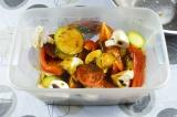 Готовое блюдо: аджичный маринад для овощей-гриль