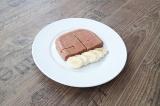 Готовое блюдо: клубничное суфле с протеином