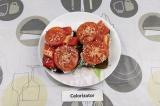 Готовое блюдо: бутерброды с творогом и овощами