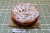 Шаг 10. Украсить пирог сахарной пудрой.