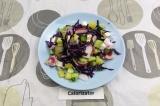 Готовое блюдо: овощной салат ароматный