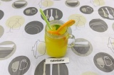 Готовое блюдо: апельсиновый лимонад с мятой